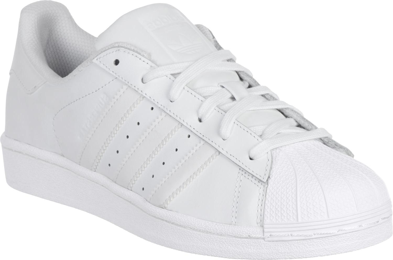 adidas superstar femmes blanc and or